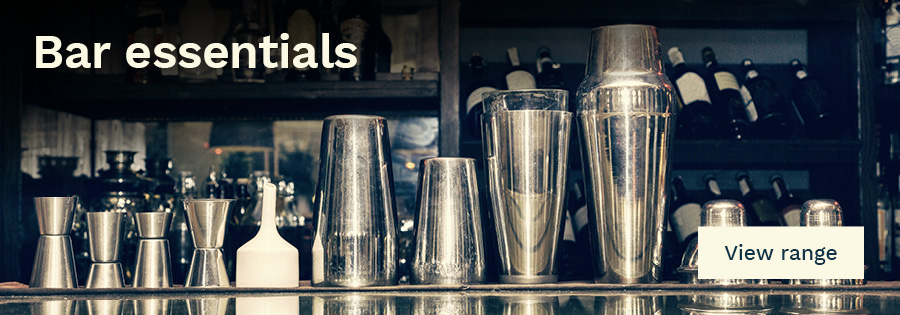 Bar essentials — click to see our range