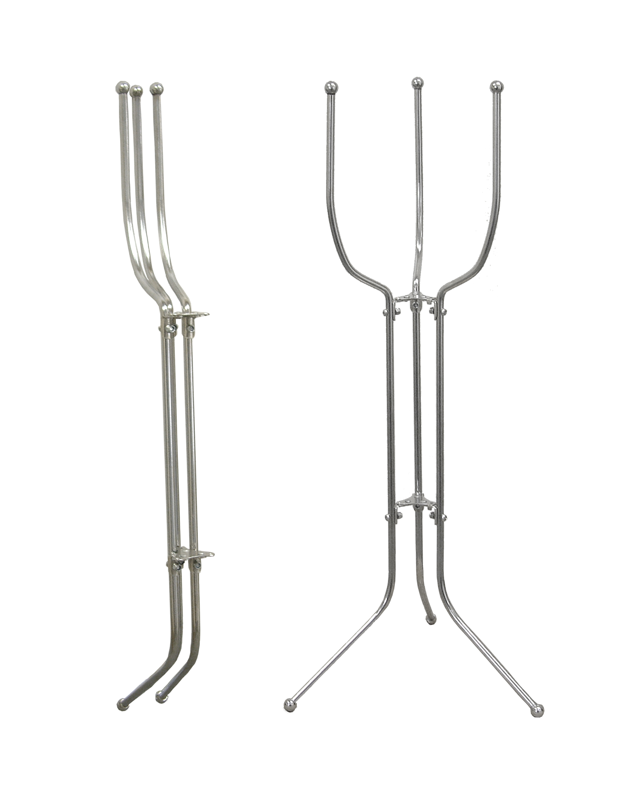 Stainless Steel Space Saver Bucket Stand Licensed Trade Supplies