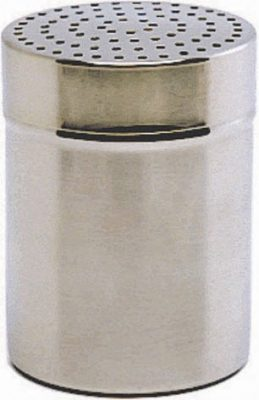 Stainless Steel Shaker with large 4mm hole (Plastic Cap)