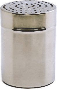 Stainless Steel Shaker Small 2.5mm Hole (Plastic Cap)
