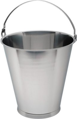 Stainless Steel 10 Litre Graduated Bucket