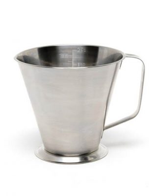 Stainless Steel Graduated Jug - 0.5 Litre / 1 Pint