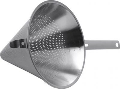Stainless Steel Conical Strainer - 5.25""