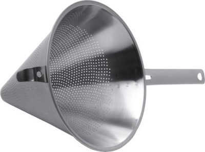 Stainless Steel Conical Strainer - 8.75""
