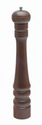 Heavy Wood Pepper Mill 9""