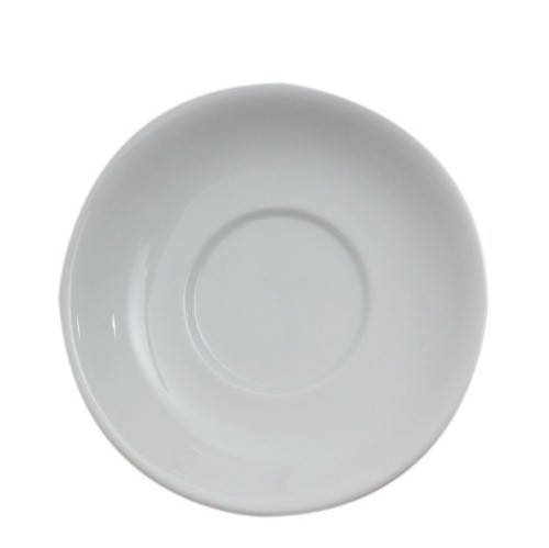 Royal Genware Saucer for Coffee Cup 3.75oz Espresso White