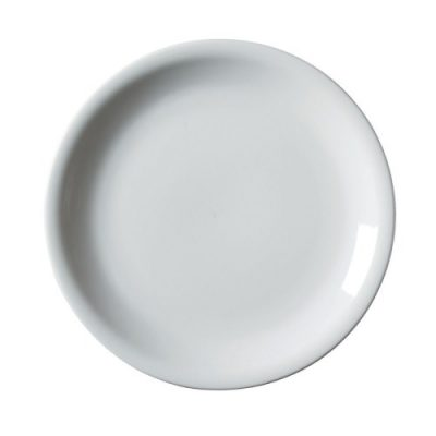Royal Genware Narrow Rim Plate 22cm White