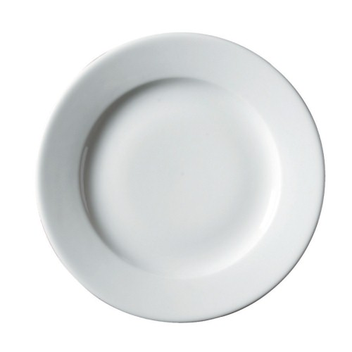 Royal Genware Classic Winged Plate 26cm White