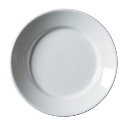 Royal Genware Deep Winged Plate 28cm White