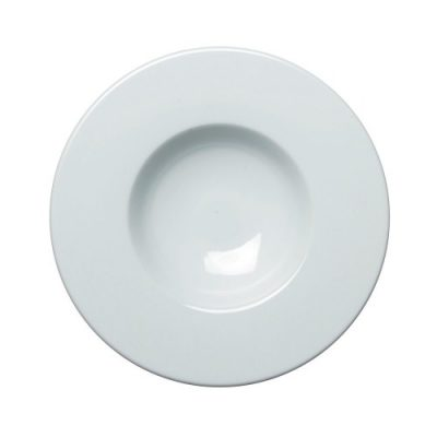 Royal Genware Extra Wide Rim Gourmet Plate 30cm White