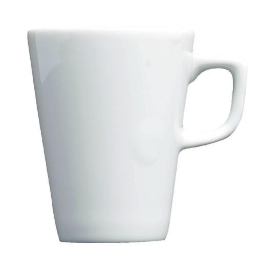 Royal Genware Conical Espresso Cup 3.75oz/11cl White