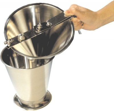Stainless Steel Measure Holder for (515200) Fondant Funnel