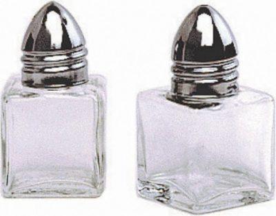 Individual Glass Salt Pot