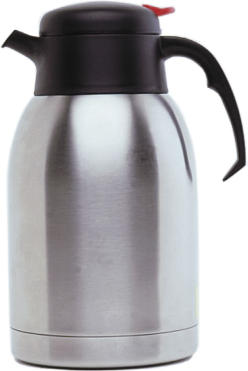 Stainless Steel Vacuum Push Button Jug 2L