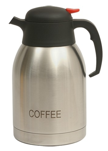 Coffee Inscribed Stainless Steel Vacuum Jug 2L