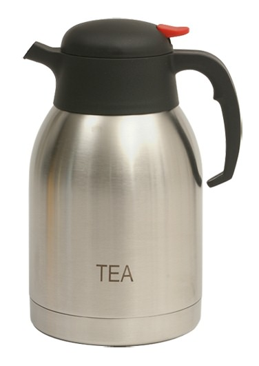 Tea Inscribed Stainless Steel Vacuum Jug 2L