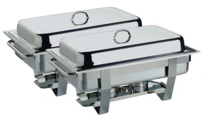 Twin Pack of Full Size Economy Chafing Dish