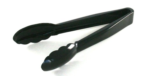 Salad Tongs - Black 9""