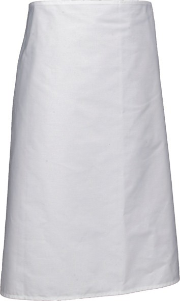 White long apron 70cm x 90cm