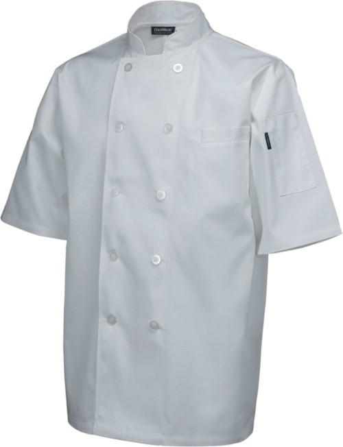 Standard Jacket (short sleeve) White