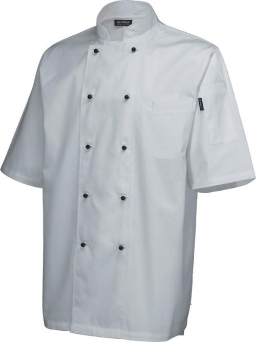 Superior Jacket (short sleeve) White