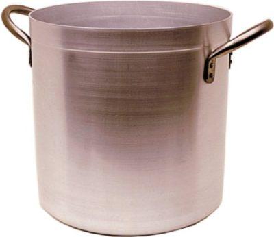 Genware Stockpot & Lid - 37 litre