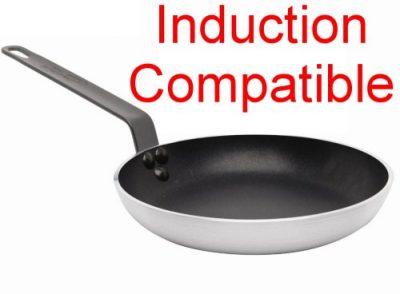 Genware Induction Compatible Frypan 26cm Teflon Plus