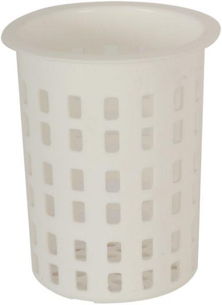 Cutlery Cylinder White 100 mm diameter x 135mm high