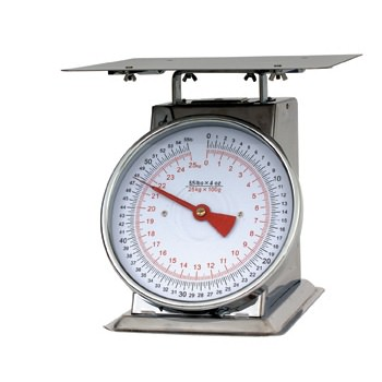 Stainless Steel Heavy Weight Platform Scales - Limit 25kg