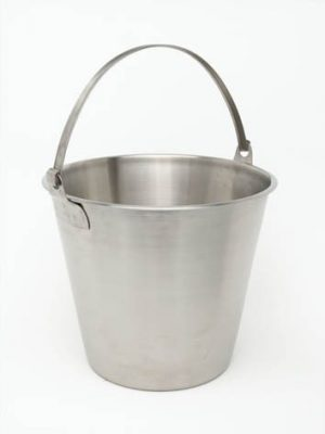 Stainless Steel Economy Bucket - 12 Litre