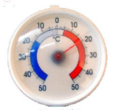 Freezer Thermometer - Dial Design