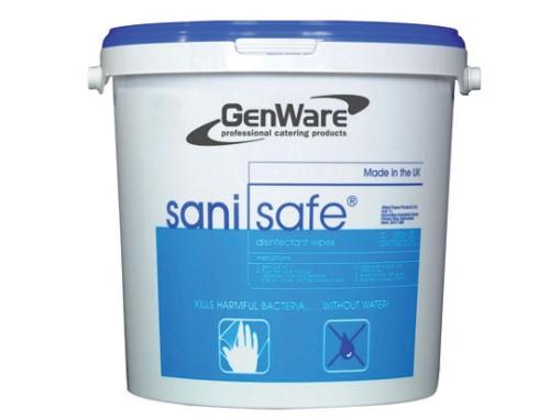 Sanitising Wipes - Bucket of 1000