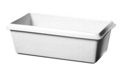 Royal Genware Gastronorm Dish (1/3 Size) 32cm x 17.5cm x 5.5cm White