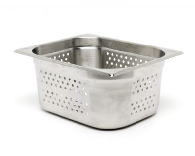 Perforated Stainless Steel Gastronorm Pan 1/2 size 325 x 265mm