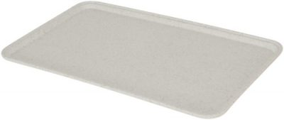 White Fibreglass Rectangular Tray - 530 x 325mm
