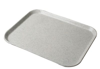 White Fibreglass Rectangular Tray - 457 x 356mm