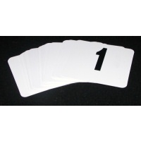 Table Numbers 1 - 50