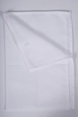 White Honeycomb Waiter's Cloth - 20""
