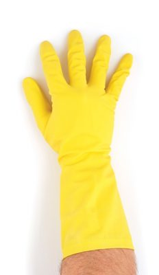 Household Rubber Gloves - Yellow