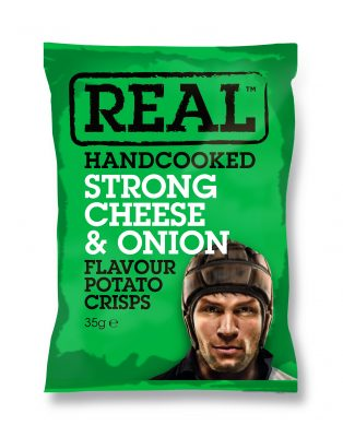 Real Crisps Cheese & Onion 35g