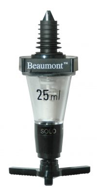 25ml Beaumont Solo Classic Spirit Measure