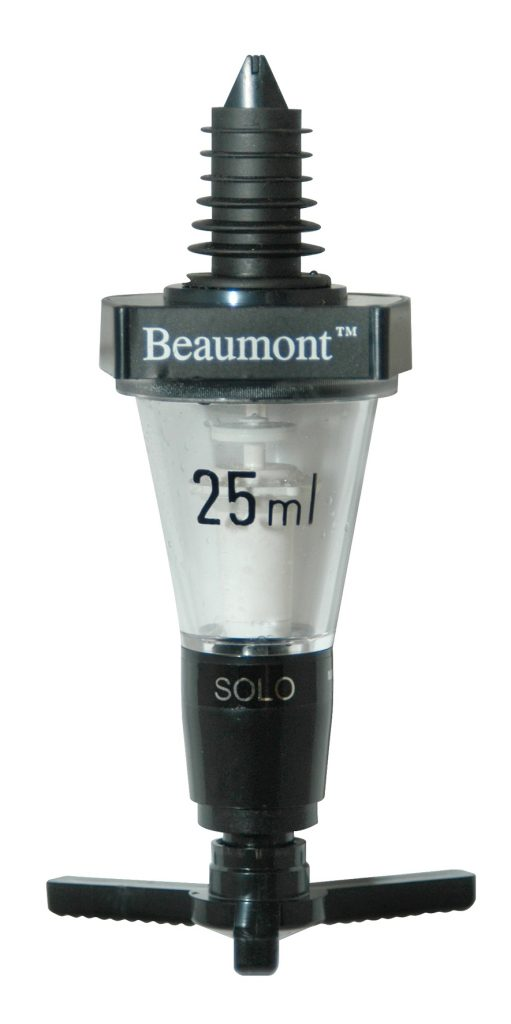 25ml Beaumont Solo Classic Spirit Measure