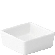 "2.5"" Shallow Square Dish - Platinum Collection"