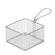"3.75"" Square Service Basket - Copper Collection"