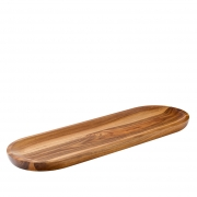 """17 x 5.5"""" Acacia Wood Serving Board - Copper Collection"""