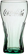 Coca Cola Georgian Green Glass - 23oz / 65cl - Copper Collection