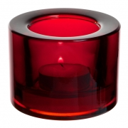 Chunky Red Candleholder - Copper Collection