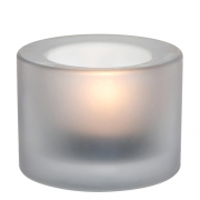 Chunky White Candleholder - Copper Collection