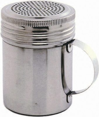 Stainless Steel Handled Shaker with Screw Top - 300ml