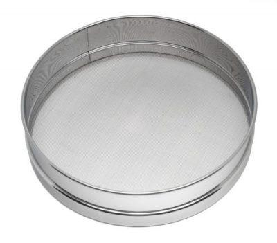 "Stainless Steel Flour Sieve - 11"""